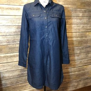 Chambray Denim Shirt Dress by Old Navy Size XS